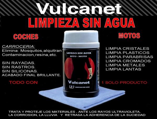 Limpieza sin agua Vulcanet