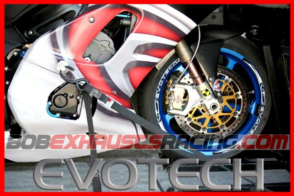 Enganche de cinchas evotech bob exhausts racing for Cinchas para moto