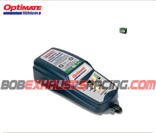 OPTIMATE LITHIUM CARGADOR BATERIA 12V 5A