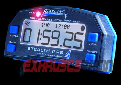 STARLANE LAP TIMER STEALTH GPS-4