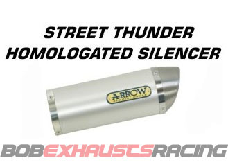 ESCAPE ARROW Street Thunder para colectores originales/ Honda CBR 125 '04/10