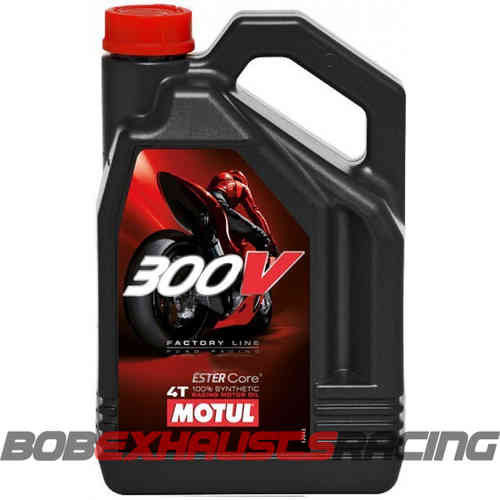 MOTUL 300V FACTORY ROAD 15W50 4L