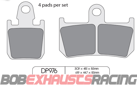 DP RACING PASTILLA FRENO RDP976