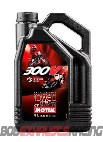 MOTUL 300V2 FACTORY ROAD 10W50 4L