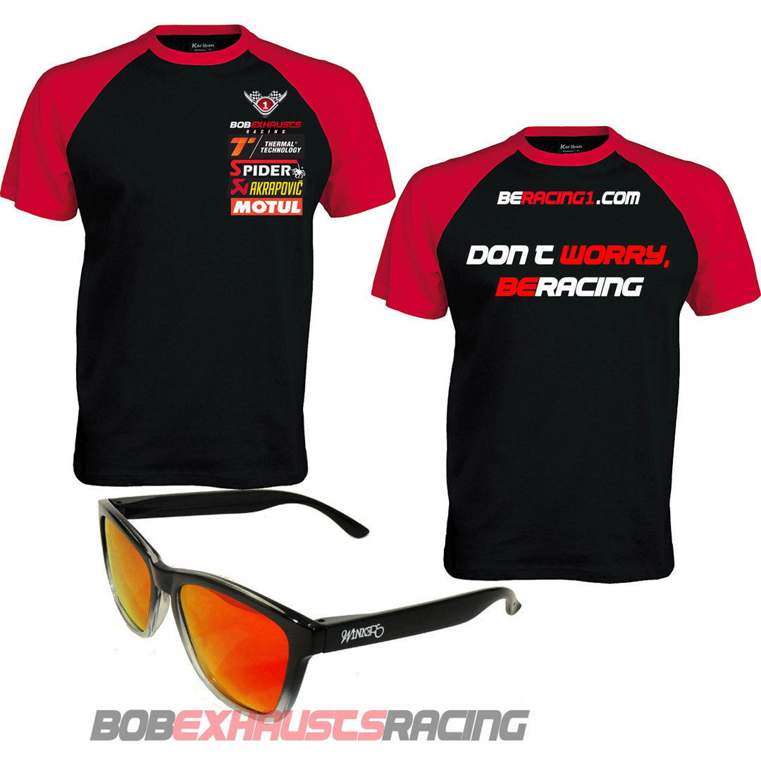 PACK GAFAS BERACING1 + CAMISETA, DON´T WORRY BERACING