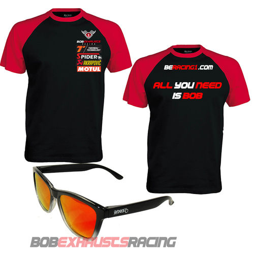 PACK GAFAS BERACING1 + CAMISETA, ALL YOU NEED IS BOB