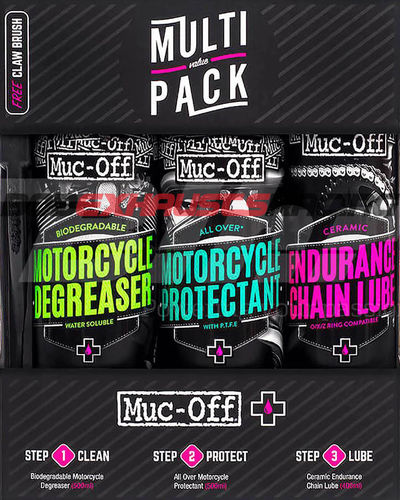 Muc-Off Multi value pack 670