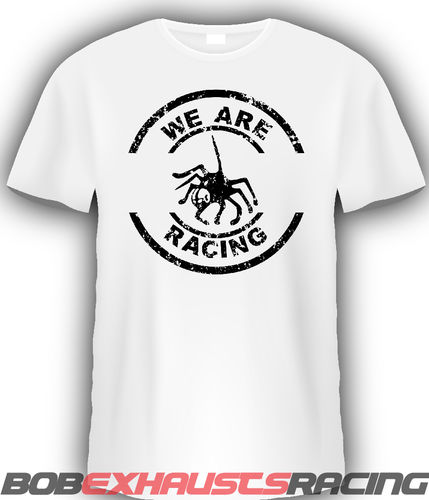 SPIDER CAMISETA LOGO WE ARE RACING