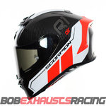 EXO-R1 CARBON AIR Corpus II Black- Neon Red